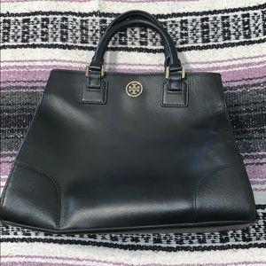 Black leather Tory Burch Handbag